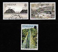 ST.HELENA 1979 CTO Stamps Inclined Planet 321-323 - Saint Helena Island
