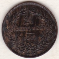 Luxembourg  2½ Centimes 1901 .ADOLPHE - Luxembourg