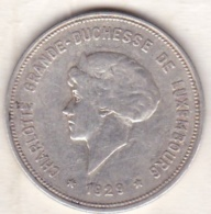 Luxembourg   5 Francs 1929 , Charlotte , Argent - Luxembourg