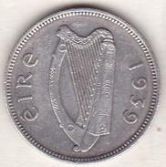 IRELAND. 1 SHILLING 1939. ARGENT - Irlande