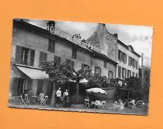 CPSM 95 HERBLAY - UNE VUE BIEN  ANIMEE DE LA DEVANTURE DE L HOTELLERIE DU PASSEUR  ( LA MAISON DU PASSEUR) - Herblay
