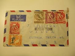 KENIA UGANDA TANGANYIKA 1960 DODOMA TO RUSSIA USSR    AIR MAIL COVER  , Oo - Kenya, Uganda & Tanganyika