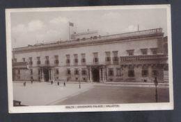 OLD MALTESE POSTCARD /  GOVERNORS PALACE VALLETTA - Malta