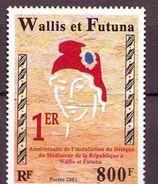WF - 2001, Delegue Mediateur 1v - MNH - Wallis Y Futuna