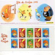 FRANCE 2005  Carnet Titeuf  FETE DU TIMBRE  YT  BC 3751A - Carnets
