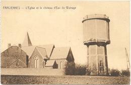 Farciennes NA21: L'Eglise Et Le Château D'Eau Du Wainage - Farciennes