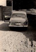 Photo Originale Petite Auto DDR De Dos - Automobiles
