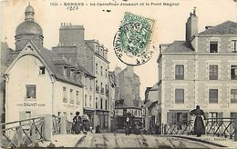 - Ille Et Vilaine -ref-B974- Rennes - Carrefour Jouaust Et Pont Bagoul - Cafe Dolivet - Cafes - Petit Plan Magasins - - Rennes