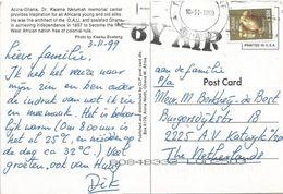 Ghana 1999 Takoradi Drum C550 Viewcard - Ghana (1957-...)