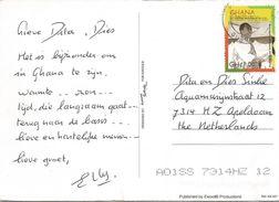 Ghana 2012 Accra President Kwame Nkrumah C1 Viewcard - Ghana (1957-...)