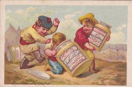 COMPAGNIE LIEBIG. L'EXTRAIT DE VIANDE LIEBIG. RECETTE. PARIS. IMP D. HUTINET. CARD. CIRCA 1910s. TBE -BLEUP - Illustrateurs & Photographes