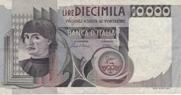 BILLETE DE ITALIA DE 10000 LIRAS DEL AÑO 1982 DE CIONINI  (BANKNOTE) - [ 2] 1946-… : República