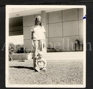 Photo Ancien / Foto / Brigitte & Bruno Taymans / Dakkar / 1962 / Size: 9 X 9 Cm. - Personnes Identifiées