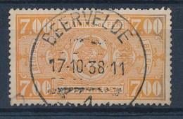 """BELGIE - TR 159 - Cachet  """"BEERVELDE 1"""" - (ref. 17.007) - Chemins De Fer"""