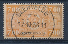 "BELGIE - TR 159 - Cachet  ""BEERVELDE 1"" - (ref. 17.007) - Ferrocarril"