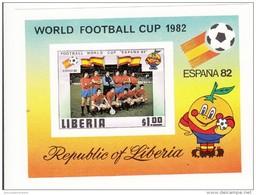 Liberia Hb 95 Sd En Prueba De Carton - Copa Mundial