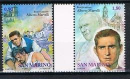 2005  SAN MARINO SET BEATO ALBERTO MARVELLI MNH ** MINT - Nuovi