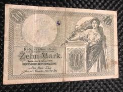Duitsland 10 Mark 1906 - [ 2] 1871-1918 : Impero Tedesco