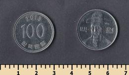 South Korea 100 Won 2013 - Korea, South