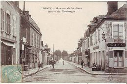 Cpa  Ladon Avenue De La Gare - Autres Communes