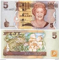 FIJI      5 Dollars     P-110a      ND (2007)     UNC - Fidji