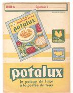 Protège Cahier POTALUX Le Potage De Luxe à La Portée De Tous - Sopas & Salsas