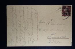Memel: Postkarte Memel Zug Stempel 108 Signed Dr Petersin BPP - Memelgebiet
