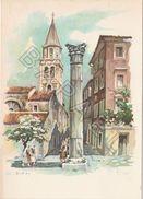 Zadar (Croatie) - Rimski Stup (V. Kirin) - Croatie