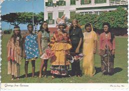 Surinam - Volksgruppen     -  **0ran-1** - Suriname