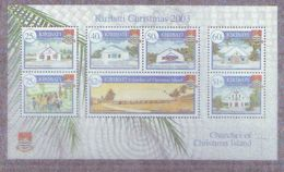 KI - 2003, Christmas, Churches S/s  - MNH - Kiribati (1979-...)