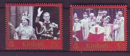 KI - 2003, Coronation 2v - MNH - Kiribati (1979-...)