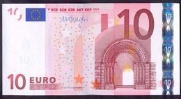 Euronotes 10 Euro 2002  UNC < X >< E007 > Germany Draghi - EURO