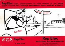 "Le Havre - Cpsm Commerciale "" Rep-Elec - 327 Rue Des Chantiers - Scan Recto-verso - Le Havre"