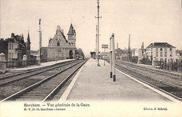 Berchem - Vue Générale De La Gare (R V D H, Cliché Schreij) - Antwerpen