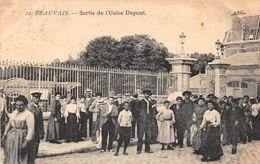 BEAUVAIS  - Sortie De L'Usine Dupont - Beauvais