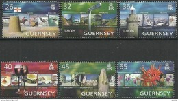 Guernsey Guernesey  2004 Yvertn° 1011-1016 *** MNH Cote 12,50 Euro - Guernsey