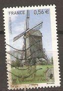 FRANCE    -  2010 . Y&T N° 4489 Oblitéré.   Moulin à Farine - Used Stamps