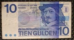 Nederland 10 Gulden 1968 - [2] 1815-… : Kingdom Of The Netherlands