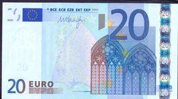 Euronotes 20 Euro 2002 UNC < M >< U022 > Portugal Draghi - EURO