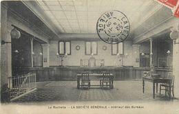 BANQUES Société Générale  La Rochelle Intérieur Des Bureaux  2scans - Banques