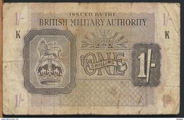 °°° UK - BRITISH MILITARY AUTHORITY 1 POUND K °°° - Emissioni Militari