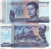 CAMBODIA    Just Issued    1'000  Riels  2017  Pnew   UNC - Cambodia