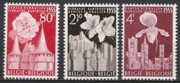 Belgie  .      OBP    .    961/963       .      **     .     Postfris ZONDER Charnier . / . Neuf SANS Charniere - Belgien