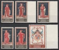Belgie  .      OBP    .    1102/1107     .      **     .     Postfris ZONDER Charnier . / . Neuf SANS Charniere - Belgien
