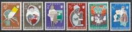 Belgie  .      OBP    .    1153/1158     .      **     .     Postfris ZONDER Charnier . / . Neuf SANS Charniere - Belgium