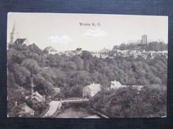 AK WEITRA B. Gmünd Bahnpost Zugstempel Gross Gerungs ... 1922// D*28803 - Weitra