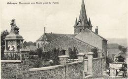 Ochamps - Monument Aux Morts Pour La Patrie - Maison, Citroën Oldtimer - Pas Circulé - Edit. Detroz Henri - Libin