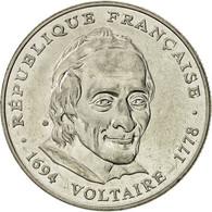 France, Voltaire, 5 Francs, 1994, Paris, SUP, Nickel, KM:1063, Gadoury:775 - France