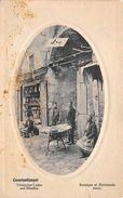 Constantinople - Turkey Boutique Et Marchands Turcs - Turkischer Laden Und Handler - Turkey