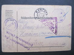 Korrespondenzkarte Des Prisoniers De Guerre KUNGUR Perm - Znaim  Kriegsgefangene //  D*28818 - Entiers Postaux